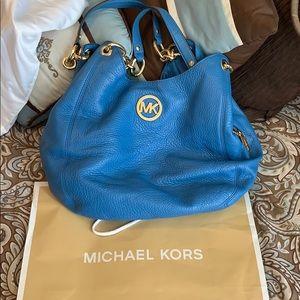 Blue Cornflour Michael Kors Hobo bag